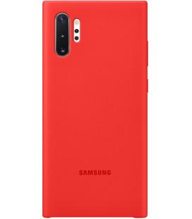 """Originalus raudonas dėklas """"Silicone Cover"""" Samsung Galaxy Note 10 Plus telefonui """"EF-PN975TRE"""""""