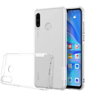 """Skaidrus silikoninis dėklas Huawei P30 Lite telefonui """"Nillkin Nature"""""""