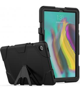 """Juodas dėklas Samsung Galaxy Tab S5E 2019 T720/T725 planšetei """"Tech-Protect Survive"""""""