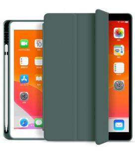"""Žalias atverčiamas dėklas Apple iPad 10.2 2019 planšetei """"Tech-Protect SC Pen"""""""