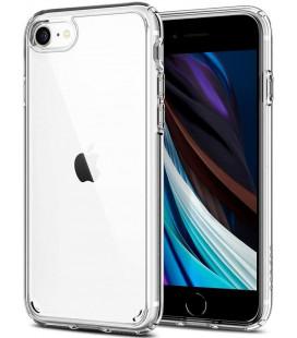 """Skaidrus dėklas Apple iPhone 7/8/SE 2020 telefonui """"Spigen Ultra Hybrid"""""""