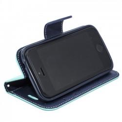 """Odinis juodas atverčiamas dėklas Huawei Mate S telefonui """"Nillkin S-View Qin"""""""