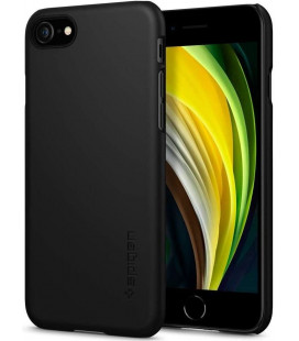 "Juodas dėklas Apple iPhone 7/8/SE 2020 telefonui ""Spigen Thin Fit"""