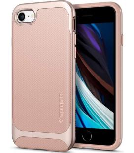 "Rožinis dėklas Apple iPhone 7/8/SE 2020 telefonui ""Spigen Neo Hybrid"""