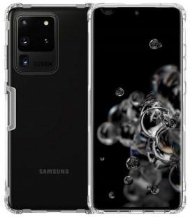 """Skaidrus silikoninis dėklas Samsung Galaxy S20 Ultra telefonui """"Nillkin Nature"""""""