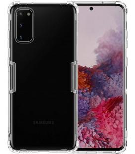 """Skaidrus silikoninis dėklas Samsung Galaxy S20 telefonui """"Nillkin Nature"""""""