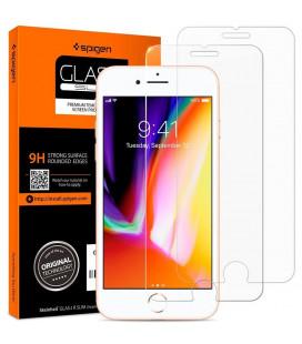 "Apsauginiai grūdinti stiklai Apple iPhone 7/8/SE 2020 telefonui ""Spigen Glas.TR Slim"""