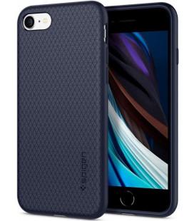 """Mėlynas dėklas Apple iPhone 7/8/SE 2020 telefonui """"Spigen Liquid Air"""""""