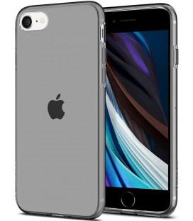"""Pilkas/skaidrus dėklas Apple iPhone 7/8/SE 2020 telefonui """"Spigen Liquid Crystal"""""""