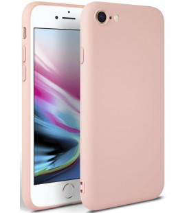 """Rožinis dėklas Apple iPhone 7/8/SE 2020 telefonui """"Tech-protect Icon"""""""