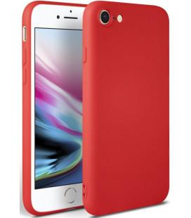 """Raudonas dėklas Apple iPhone 7/8/SE 2020 telefonui """"Tech-protect Icon"""""""