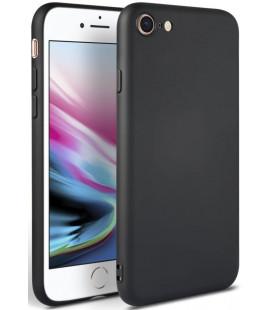 """Juodas dėklas Apple iPhone 7/8/SE 2020 telefonui """"Tech-protect Icon"""""""