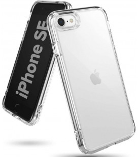 "Skaidrus dėklas Apple iPhone 7/8/SE 2020 telefonui ""Ringke Fusion"""