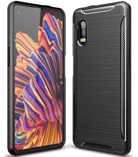 """Juodas dėklas Samsung Galaxy Xcover Pro telefonui """"Tech-Protect"""""""