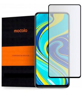 """Juodas apsauginis grūdintas stiklas Xiaomi Redmi Note 9s/9 Pro/9 Pro Max telefonui """"Mocolo TG Full Glue"""""""