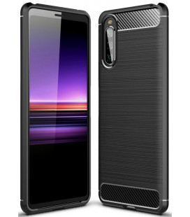 "Juodas dėklas Sony Xperia 10 II telefonui ""Tech-Protect"""
