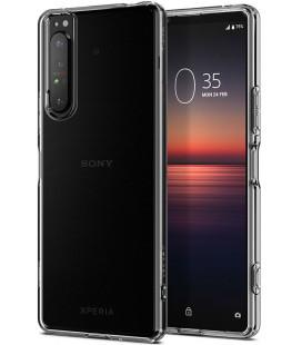 """Skaidrus dėklas Sony Xperia 1 II telefonui """"Spigen Liquid Crystal"""""""