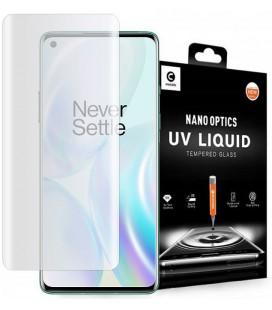 """Skaidrus apsauginis grūdintas stiklas Oneplus 8 telefonui """"Mocolo UV Glass"""""""