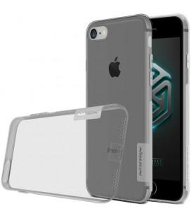 """Skaidrus/pilkas silikoninis dėklas Apple iPhone 6/6s telefonui """"Nillkin Nature"""""""