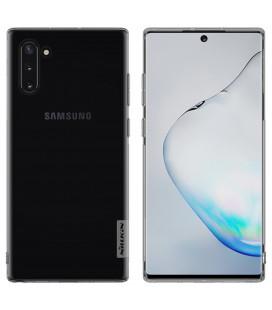 """Skaidrus/pilkas silikoninis dėklas Samsung Galaxy Note 10 telefonui """"Nillkin Nature"""""""