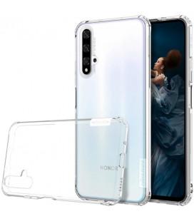 """Skaidrus silikoninis dėklas Huawei Honor 20 telefonui """"Nillkin Nature"""""""