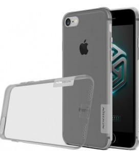 "Skaidrus/pilkas silikoninis dėklas Apple iPhone 7/8/SE 2020 telefonui ""Nillkin Nature"""