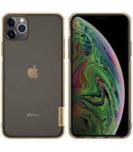 """Rudas silikoninis dėklas Apple iPhone 11 Pro Max telefonui """"Nillkin Nature"""""""