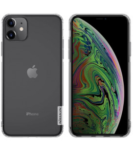 "Skaidrus silikoninis dėklas Apple iPhone 11 telefonui ""Nillkin Nature"""
