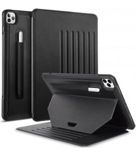 """Juodas atverčiamas dėklas Apple iPad Pro 12.9 2018/2020 planšetei """"ESR Sentry Stand"""""""