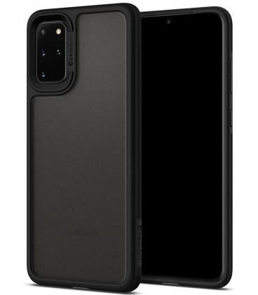 """Juodas dėklas Samsung Galaxy S20 Plus telefonui """"Spigen Ciel Color Brick"""""""