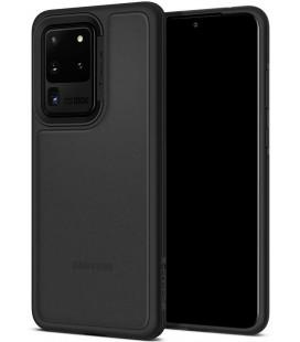"Juodas dėklas Samsung Galaxy S20 Ultra telefonui ""Spigen Ciel Color Brick"""
