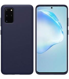 "Mėlynas silikoninis dėklas Samsung Galaxy S20 Plus telefonui ""Nillkin Flex Pure Liquid Silicone"""