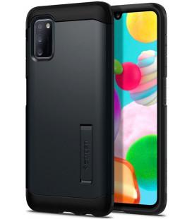 "Pilkas dėklas Samsung Galaxy A41 telefonui ""Spigen Tough Armor"""