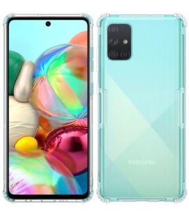 """Skaidrus silikoninis dėklas Samsung Galaxy A71 telefonui """"Nillkin Nature"""""""