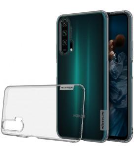 """Skaidrus/pilkas silikoninis dėklas Huawei Honor 20 Pro telefonui """"Nillkin Nature"""""""