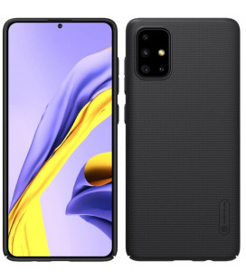 "Juodas dėklas Samsung Galaxy A71 telefonui ""Nillkin Frosted Shield"""