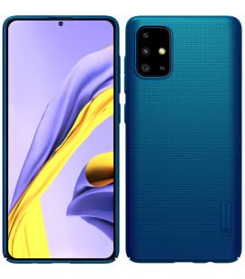 "Mėlynas dėklas Samsung Galaxy A71 telefonui ""Nillkin Frosted Shield"""