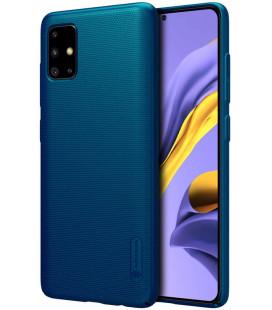 "Mėlynas dėklas Samsung Galaxy A51 telefonui ""Nillkin Frosted Shield"""