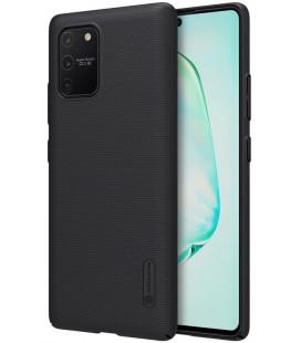 """Juodas dėklas Samsung Galaxy S10 Lite telefonui """"Nillkin Frosted Shield"""""""
