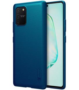 """Mėlynas dėklas Samsung Galaxy S10 Lite telefonui """"Nillkin Frosted Shield"""""""