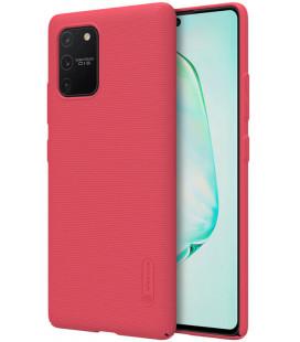 """Raudonas dėklas Samsung Galaxy S10 Lite telefonui """"Nillkin Frosted Shield"""""""