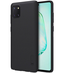 "Juodas dėklas Samsung Galaxy Note 10 Lite telefonui ""Nillkin Frosted Shield"""