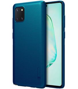 """Mėlynas dėklas Samsung Galaxy Note 10 Lite telefonui """"Nillkin Frosted Shield"""""""