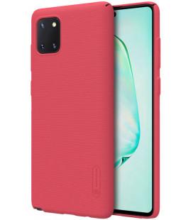 """Raudonas dėklas Samsung Galaxy Note 10 Lite telefonui """"Nillkin Frosted Shield"""""""