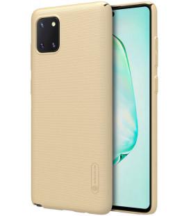 """Auksinės spalvos dėklas Samsung Galaxy Note 10 Lite telefonui """"Nillkin Frosted Shield"""""""