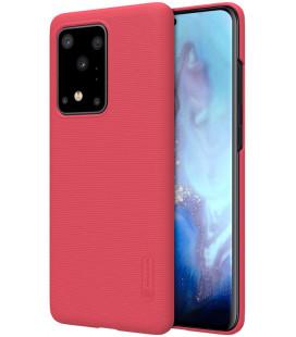 "Raudonas dėklas Samsung Galaxy S20 Ultra telefonui ""Nillkin Frosted Shield"""
