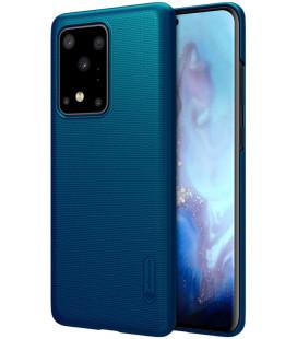 "Mėlynas dėklas Samsung Galaxy S20 Ultra telefonui ""Nillkin Frosted Shield"""