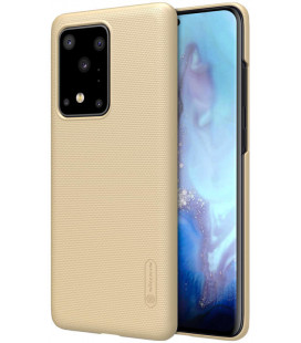 """Auksinės spalvos dėklas Samsung Galaxy S20 Ultra telefonui """"Nillkin Frosted Shield"""""""