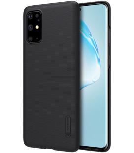 """Juodas dėklas Samsung Galaxy S20 Plus telefonui """"Nillkin Frosted Shield"""""""