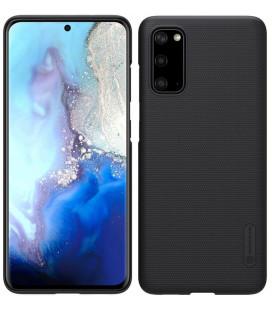 """Juodas dėklas Samsung Galaxy S20 telefonui """"Nillkin Frosted Shield"""""""